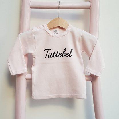 Tshirt licht roze Tuttebel lange mouw foto