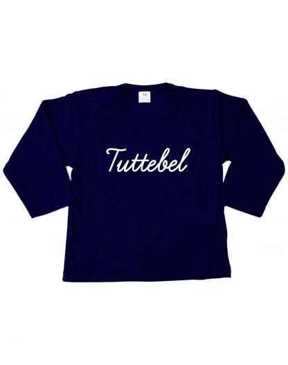 Tshirt navy blauw Tuttebel
