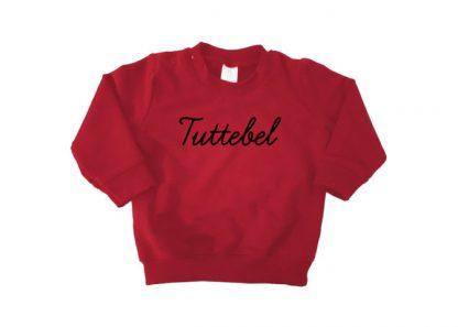 sweater bordeaux rood Tuttebel