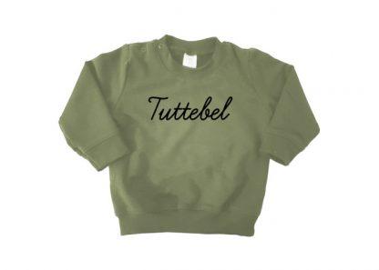 sweater legergroen Tuttebel