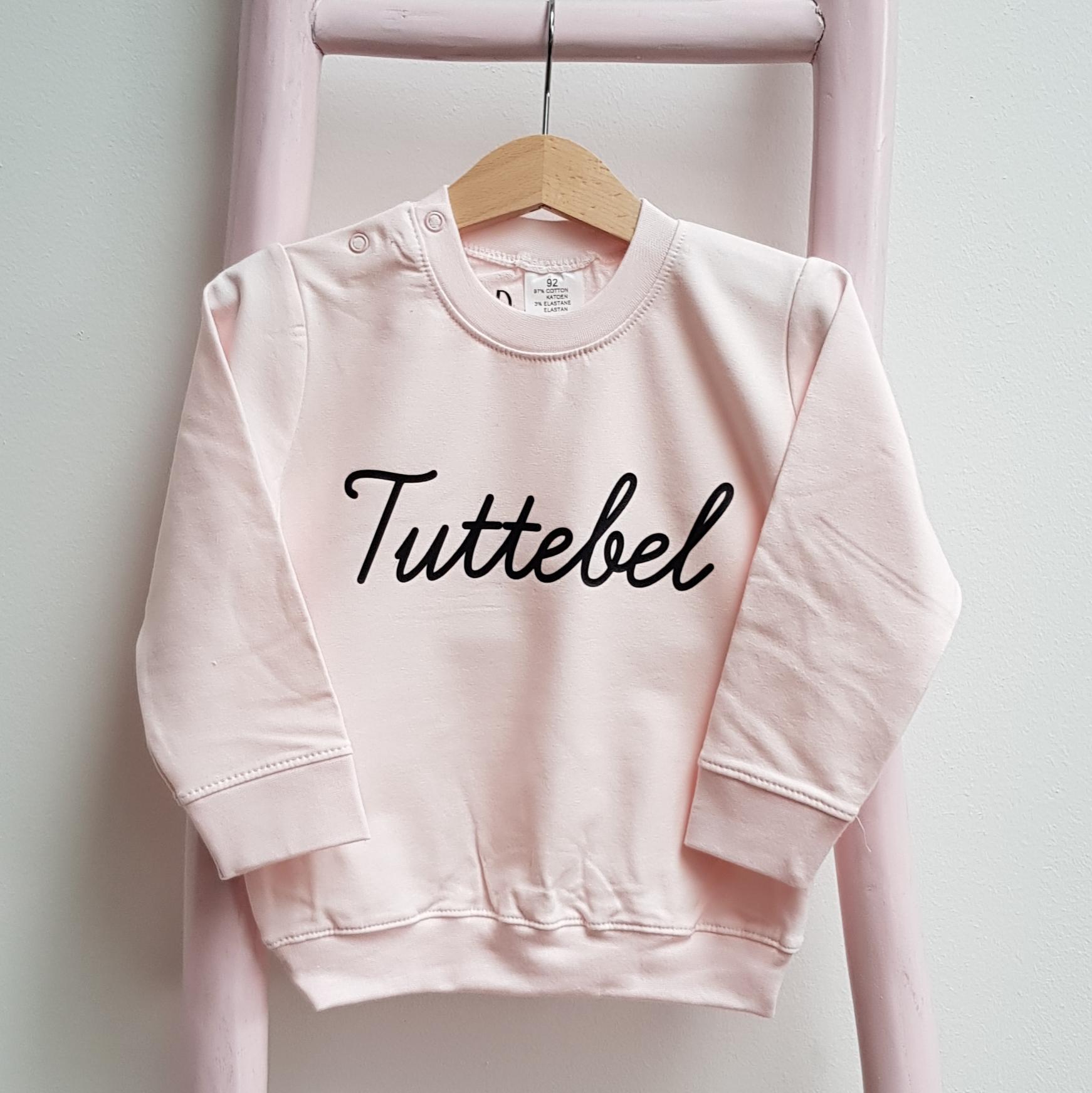 sweater licht roze Tuttebel foto