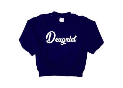 sweater navy blauw Deugniet