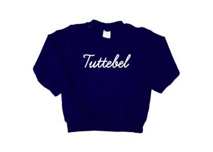 sweater navy blauw Tuttebel
