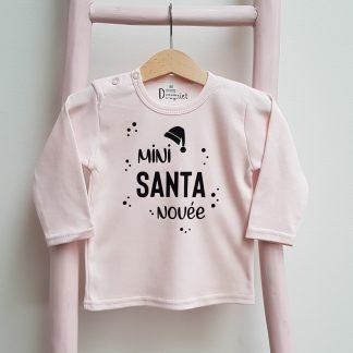 tshirt mini sanata naam kerst baby kind christmas kerst