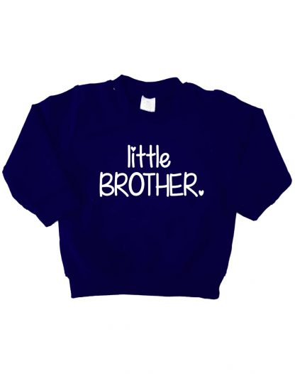 donker blauw sweater little brother
