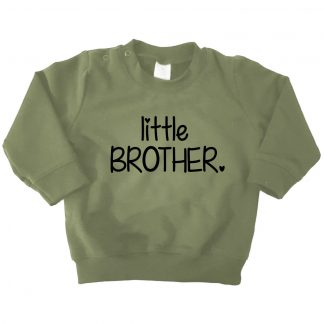 legergroene sweater little brother