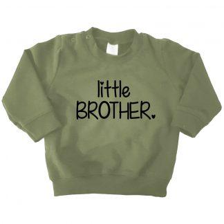 legergroene sweater little brother