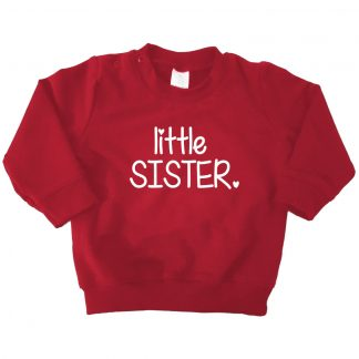 bordeaux rode sweater little sister