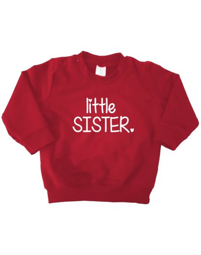 bordeaux rode sweater little sister
