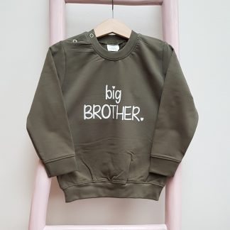 legergroene sweater big brother foto