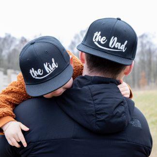 Snapback pet cap the dad
