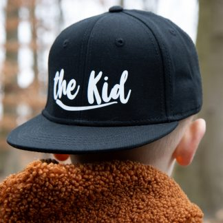 Snapback pet cap the kid