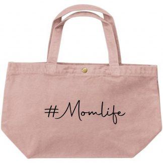 Grote luxe dames canvas shopper #momlife